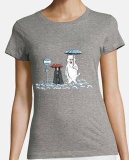 Mi vecino Fantasma- Camiseta mujer