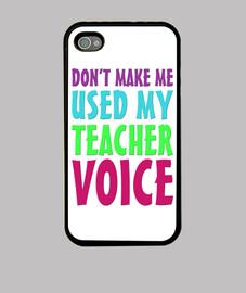 Mi voz de profesor funda