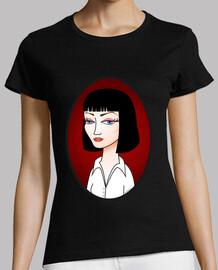 mia wallace  tee shirt  (pulp fiction)
