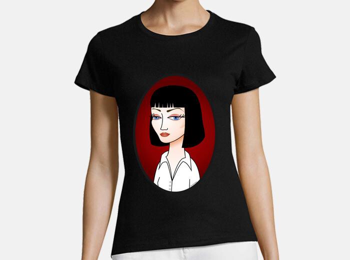 Fiction166438 Tee Shirt Shirt Wallacepulp Wallacepulp Mia Tee Mia OyvNm0w8n