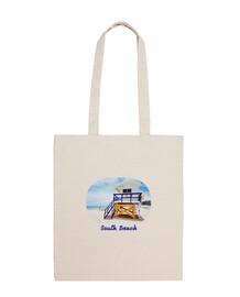 Miami Tote Bag - Bolsa tela 100 algodón
