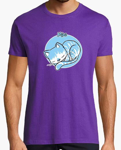 Camiseta miau 04 hombre