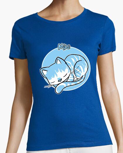 Camiseta miau 04 mujer