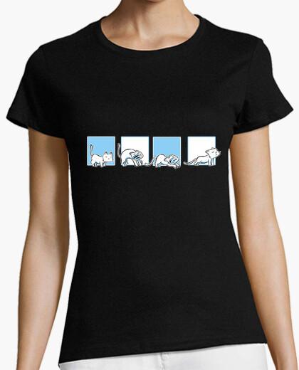Camiseta miau 07 mujer