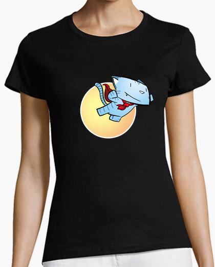 Camiseta miau 08 mujer