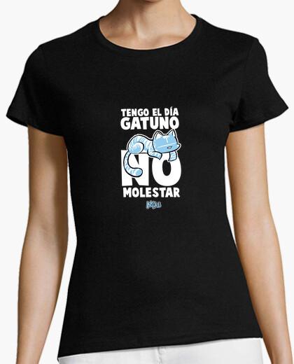Camiseta miau 11 mujer