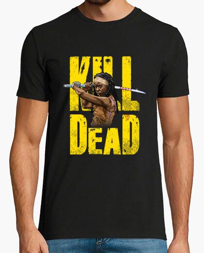 Camiseta michonne matar muertos