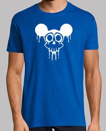 Mickey Calavera Skull Blanco