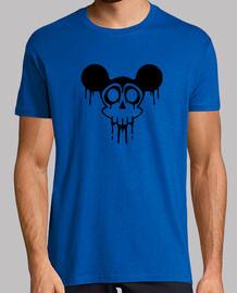 Mickey Calavera Skull Negro