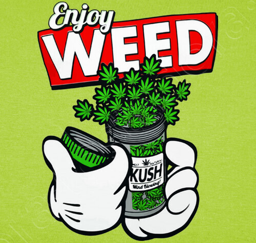 Mickey Mouse Enjoy Weed T Shirt 793824 Tostadora Com