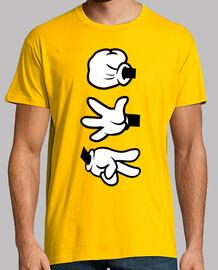 Mickey Mouse - Piedra, Papel o Tijera