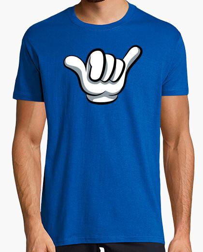 Camiseta Mickey Mouse - Saludo Hawaiano