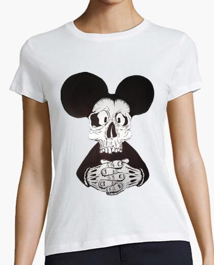 Camiseta Mickey Mouse Calavera