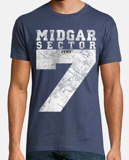 Midgar Sector 7 Vintage White