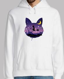 Midnight Cat Stroll