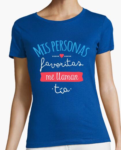 T-shirt mie persone preferite mi chiamano zia