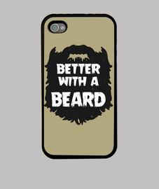 mieux avec une barbe - iphone 4