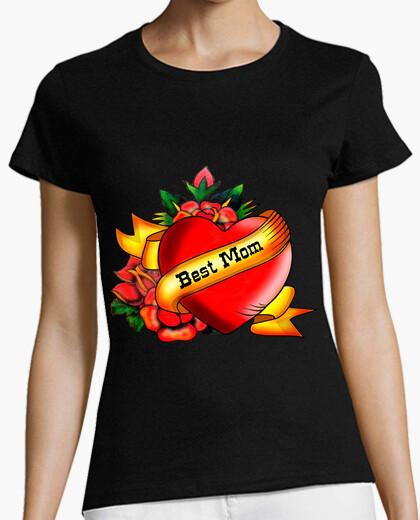 T-shirt miglior tatuaggio stile mamma