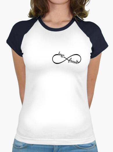 T-shirt migliori amici per sempre -makom