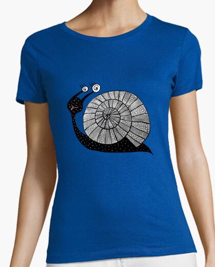 Tee-shirt mignon dessin animé avec des yeux en spirale