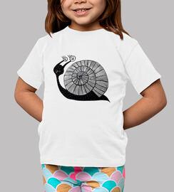 mignon dessin animé avec des yeux en spirale
