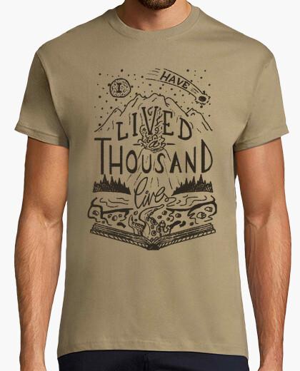 Camiseta miles de vidas