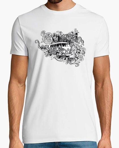 Milky savoy vw combi t-shirt