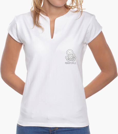 Camiseta Millennial - Marca MoroM'smile Cuello Mao