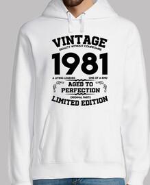 millésime 1981 vieilli à la perfection