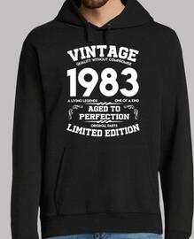 millésime 1983 vieilli à la perfection