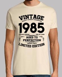 millésime 1985 vieilli à la perfection originale