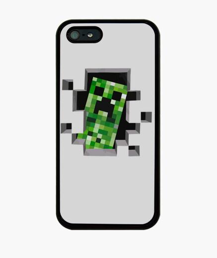 Funda iPhone MINECRAFT - Creeper
