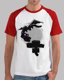 Minecraft baseball shirt