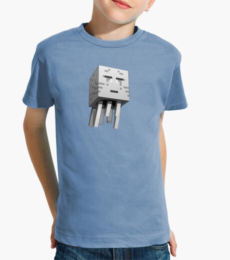 Abbigliamento bambino minecraft bianco (ragazzo)