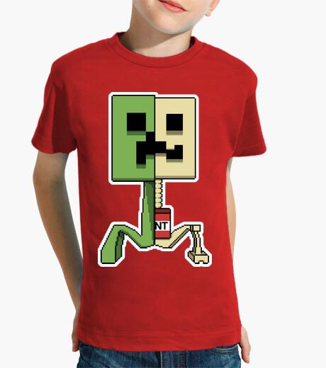 Ropa infantil Minecraft Boom Creeper Kids