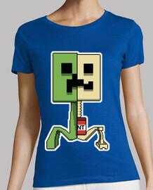 Minecraft Boom Creeper (Mujer)