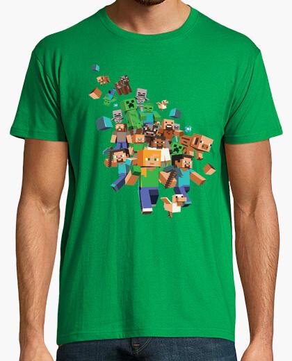 Camiseta Minecraft Brawl (HOMBRE)