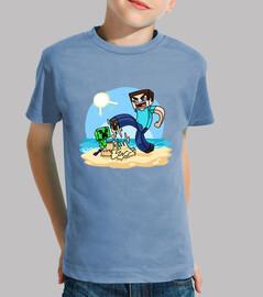 Minecraft (Camiseta Niño)