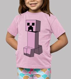 minecraft creeper (bambino)