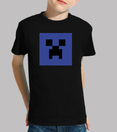 minecraft creeper blu