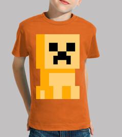Minecraft Creeper Elemental Amarillo