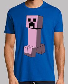 Minecraft Creeper (Rosa)