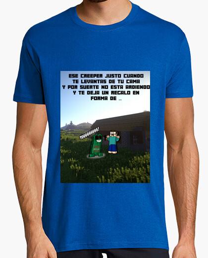 Camiseta Minecraft Creper