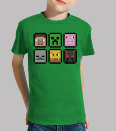 minecraft faces (children)