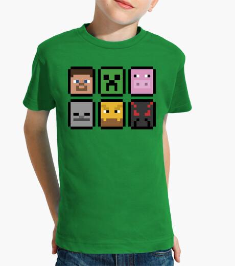 Ropa infantil Minecraft Faces (INFANTIL)