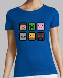 Minecraft Faces (MUJER)