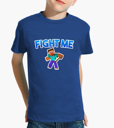 Ropa infantil Minecraft FIGHT ME