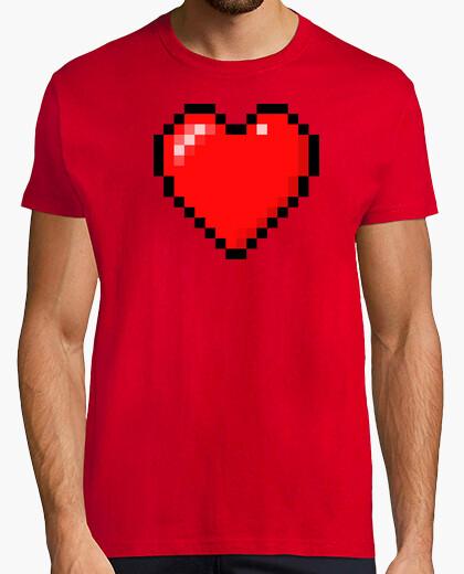 Camiseta Minecraft Heart (HOMBRE)