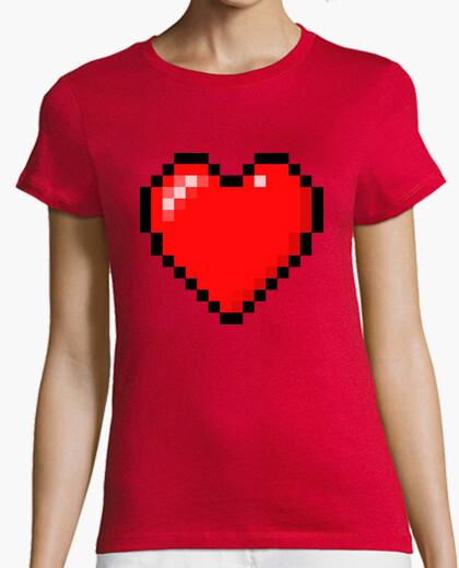 Camiseta Minecraft Heart (MUJER)