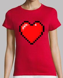 Minecraft Heart (MUJER)